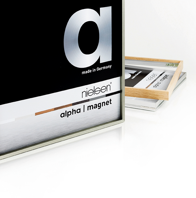 Alpha Magnet › Aluminium › Bilderrahmen › Produkte › Nielsen