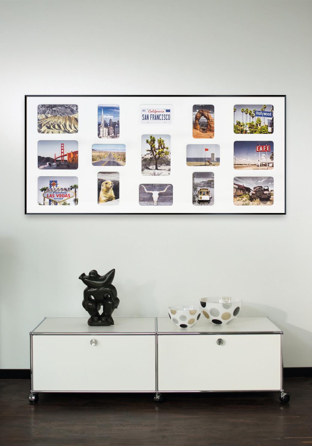 ungew hnlich fotorahmen f r viele bilder galerie. Black Bedroom Furniture Sets. Home Design Ideas