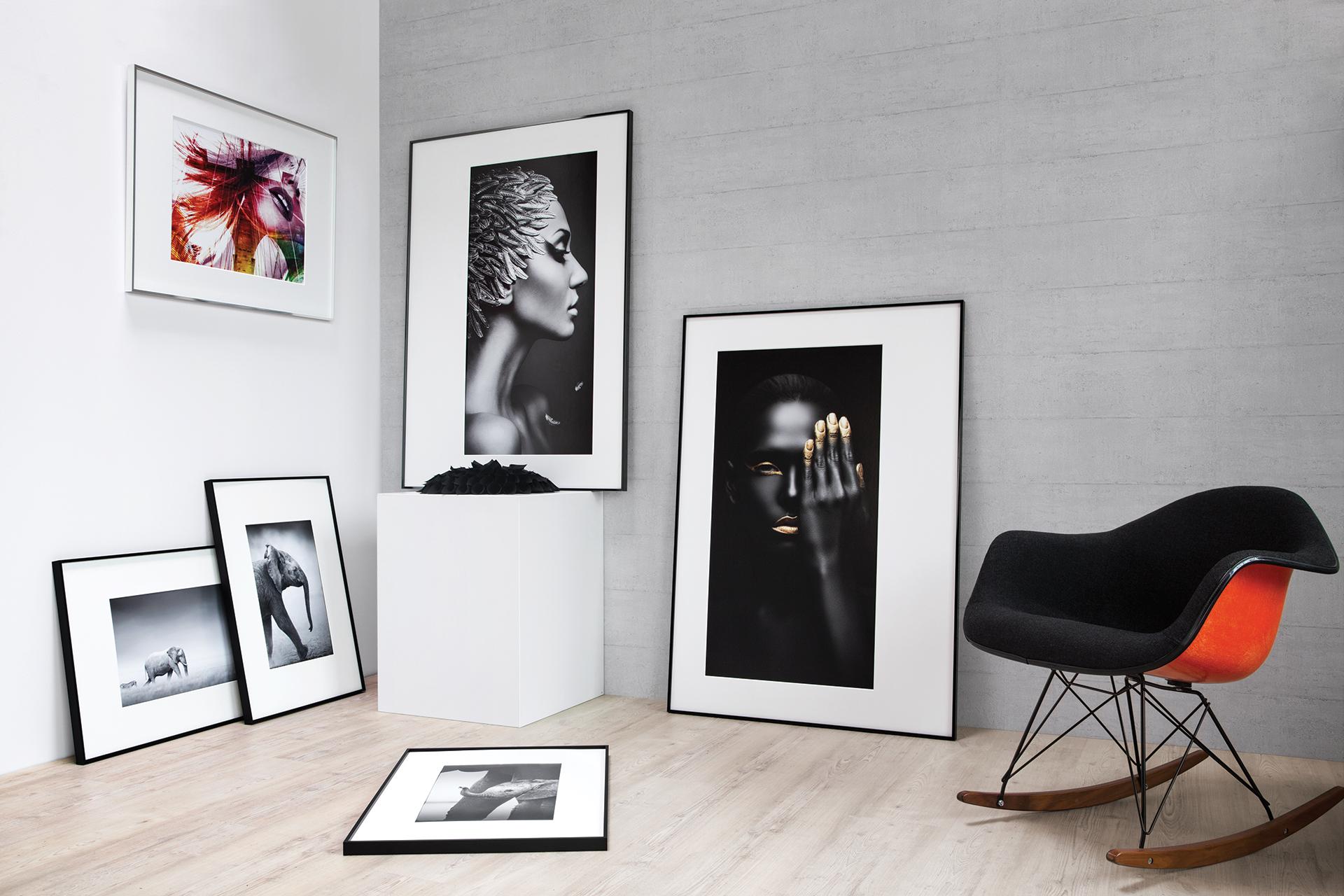 alpha aluminium bilderrahmen produkte nielsen. Black Bedroom Furniture Sets. Home Design Ideas