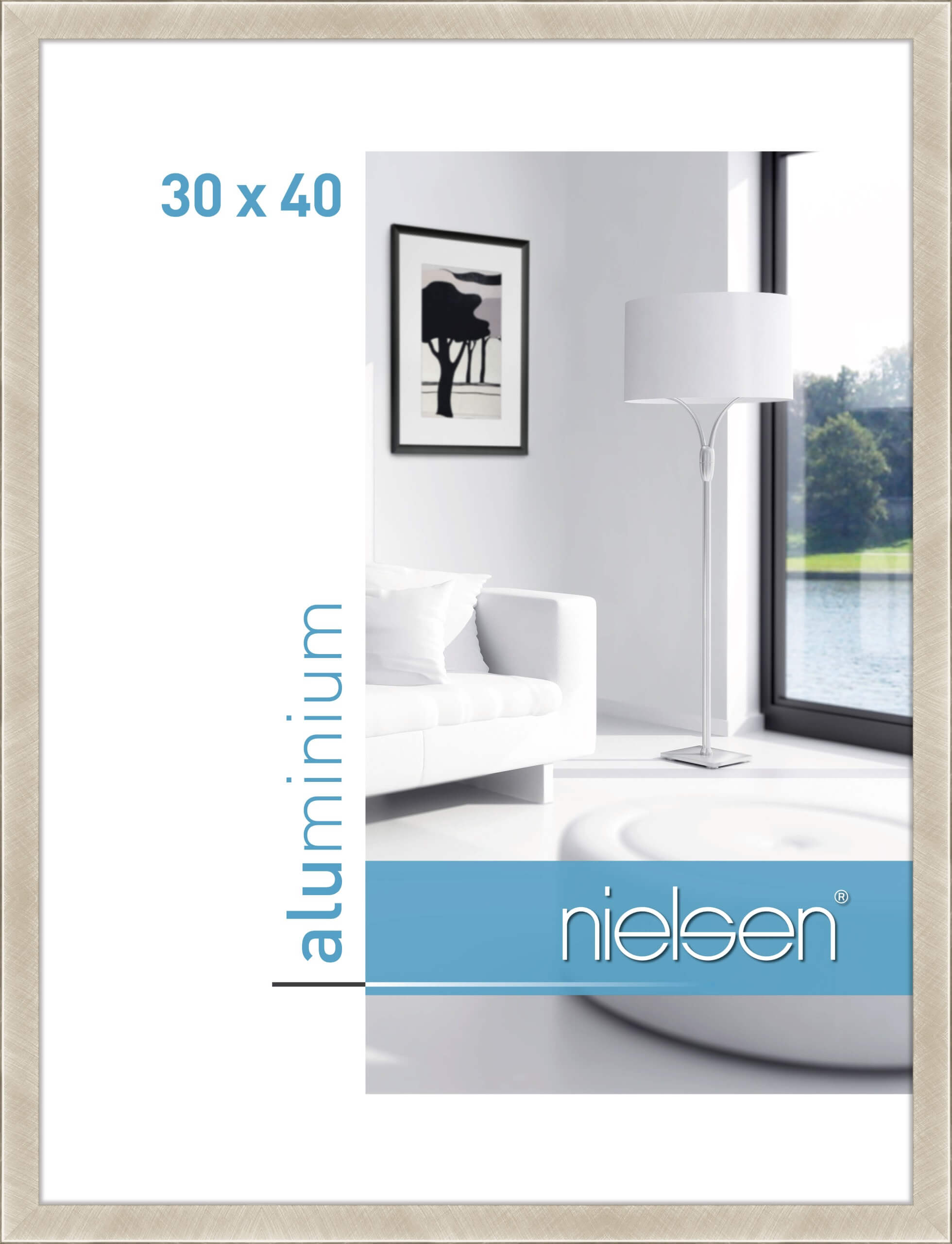 cristal aluminium bilderrahmen produkte nielsen. Black Bedroom Furniture Sets. Home Design Ideas